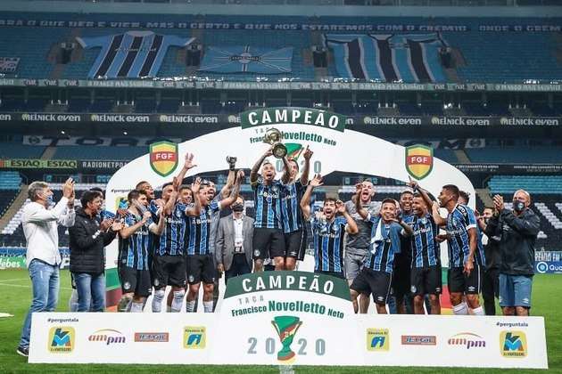 GRÊMIO - Última conquista: Campeonato Gaúcho 2020
