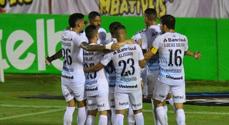 Grêmio vence jogo de ida das oitavas da Copa do Brasil e fica perto da classificação