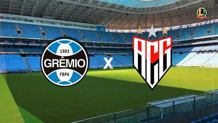Grêmio x Atlético-GO - Estádio: Arena do Grêmio - Dia 04/07/2021 - Horário: 20h30 - Transmissão: Sportv e Premiere