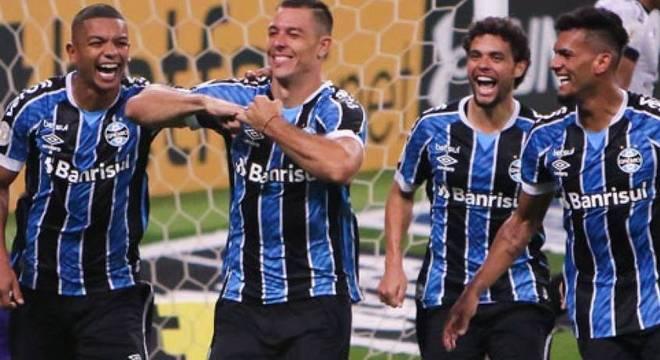 Grêmio conseguiu mais uma vitória no Brasileirão