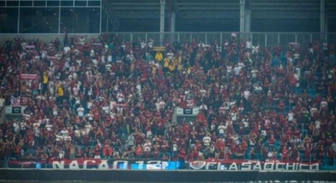 Nação lotou os ingressos na Arena do Grêmio
