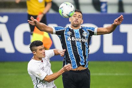 Diegou Souza garantiu vitória do Grêmio na Arena