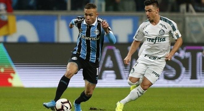 Everton não conseguiu evitar a derrota do Grêmio