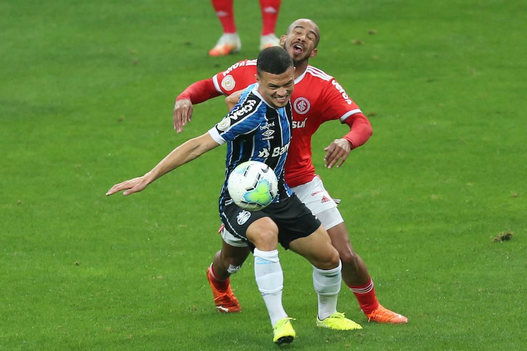 Ruim na primeira etapa, partida cresceu a partir dos sete minutos com o gol do Grêmio