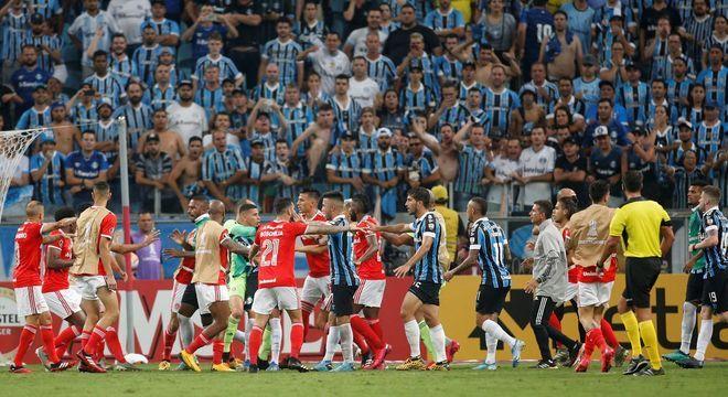 Grenal na Libertadores. Outro jogo à disposição da CNN Brasil