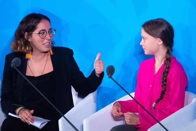 Greta Thunberg, jovem ativista sueca, criadora da Greve pelo Clima, participou de Cúpula das Nações Unidas, em seu discurso, na abertura de uma conferência sobre o clima, ela afirmou:'Vocês roubaram meus sonhos e minha infância com suas palavras vazias' e cobrou ações mais efetivas sobre as mudanças climáticas. Jovens brasileiros também participaram dos debates como a ativista Paloma Costa