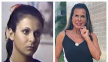 Gretchen relembra foto de quando tinha 18 anos