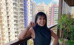 Para manter a forma, Gretchen faz exercícios acompanhada de um personal trainer e também dança, sua atividade preferida