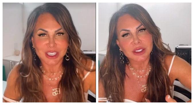 Gretchen lamentou que as críticas sejam de mulheres e reforçou: 'Amo minha cara nova'