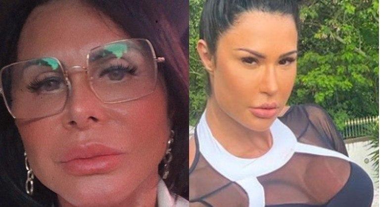 "Gretchen foi chamada de ""irmã gêmea"" da Gracyanne Barbosa"