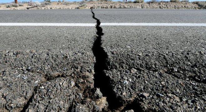 A Califórnia é uma área sensível a terremotos