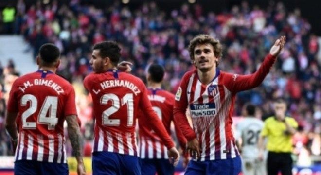 Griezmann - Atlético de Madrid x Getafe