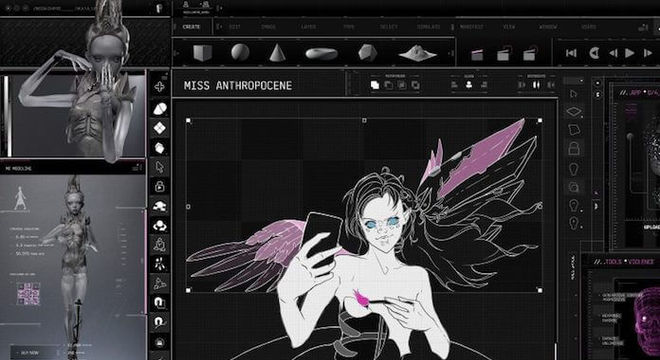 Grimes - Miss_Anthropocene