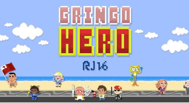 Em 2016, Gringo Hero era um jogo sobre as dificuldades de ser turista nas Olimpíadas do Rio