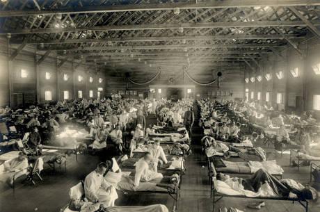 Gripe espanhola contagiou milhões em 1918