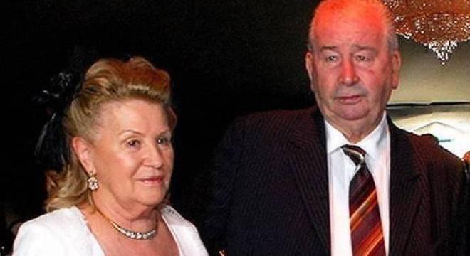 O casal Grondona, Nélida e Júlio