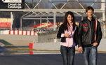 Grosjean é casado com Marion e eles têm três filhos. Os dois estão juntos desde novinhos