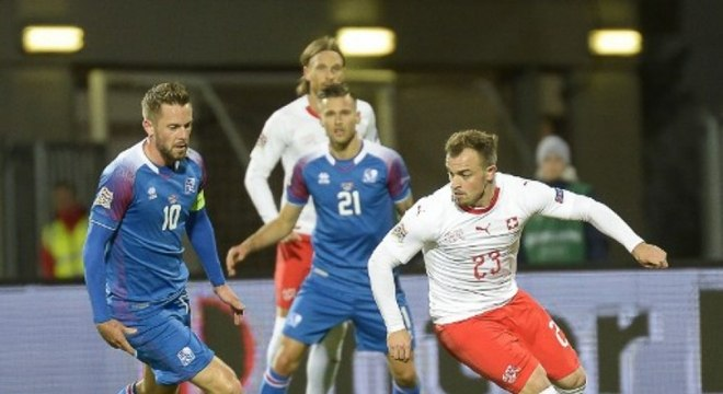 Grupo B - A Suíça perdeu da Bélgica e venceu a Islândia na data Fifa de outubro, ficando assim na segunda colocação no critério de desempate com os belgas. Os helvéticos só te