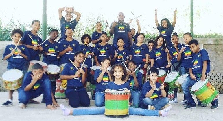 Grupo Cultura Urbana promove a inclusão de jovens com atividades culturais e esportivas