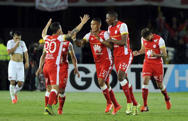 GRUPO D - Independiente Santa Fe (COL): Difícil passar de fase - Fase atual: 3º colocado Campeonato Colombiano.