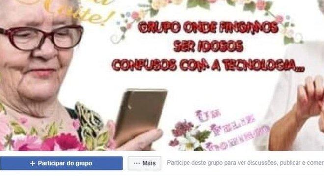 Grupo para 'imitar idosos confusos com a tecnologia' viraliza no Facebook