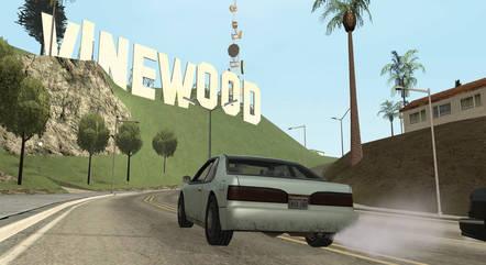 Vinewood em GTA San Andreas