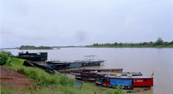 Rio Mamoré, Guajará-Mirim, Rondônia (Valdemi Silva/Agência Estado/19-11-03)
