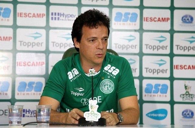 Guarani (2017) - Diniz não chegou nem a estrear no comando técnico do Bugre. Ele participou da montagem do elenco para a temporada 2018, mas deixou o clube de Campinas após receber uma proposta do Athletico-PR.