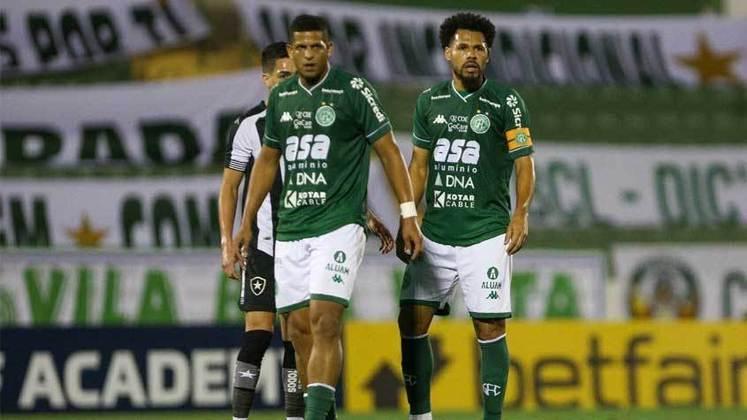 Guarani - Chances de subir para a Série A 2022: 15,5%