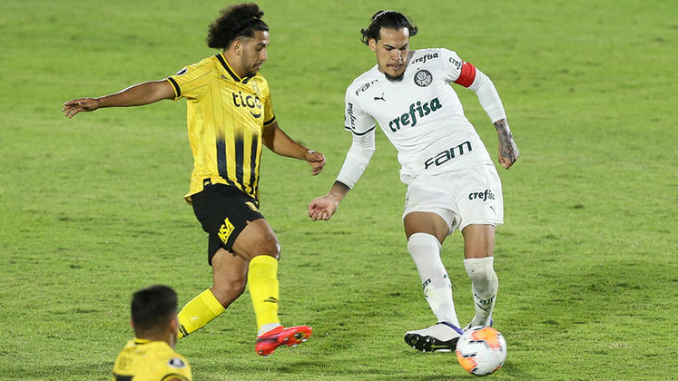 Guaraní-PAR 0 x 0 Palmeiras – estádio Defensores del Chaco, em Assunção (PAR) – 23/9/2020 – Fase de Grupos – Gols: -