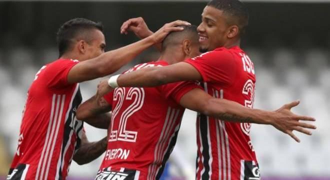 São Paulo vence Guarani por 3 a 1 mesmo com reservas, Everton fez primeiro gol