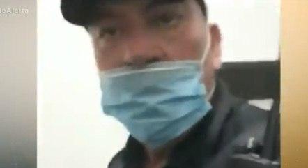Guarda municipal gera pânico após se irritar com cobrança para usar máscara
