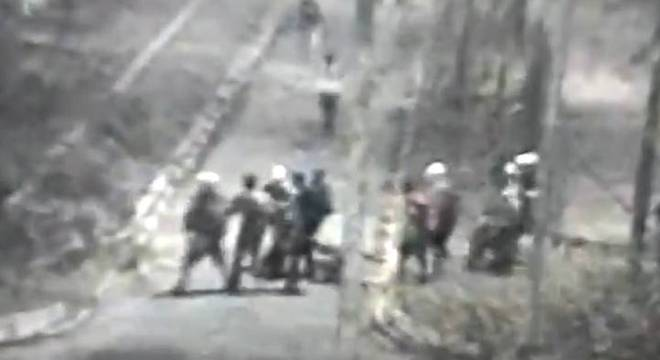 Guardas foi agredido enquanto estava no chão