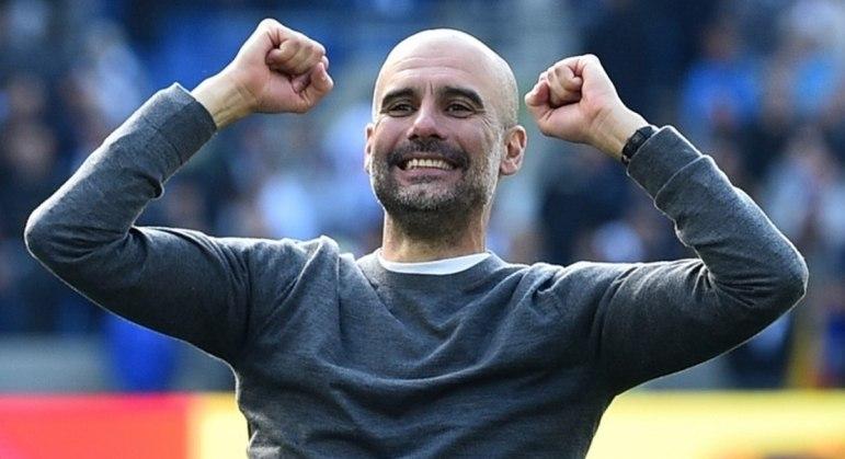 Pep Guardiola, do Manchester City