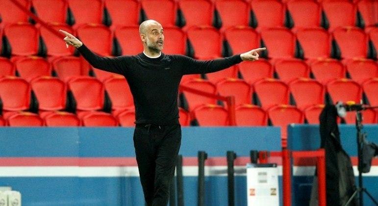 Guardiola pronto para o confronto. Manchester City tem ótima vantagem contra o PSG