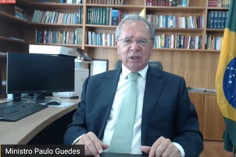 Guedes participou de evento online nesta quinta-feira