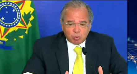 Guedes criticou atual presidente da Câmara