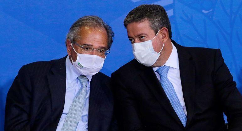 Guedes e Lira não se entendem sobre sanção da peça orçamentária