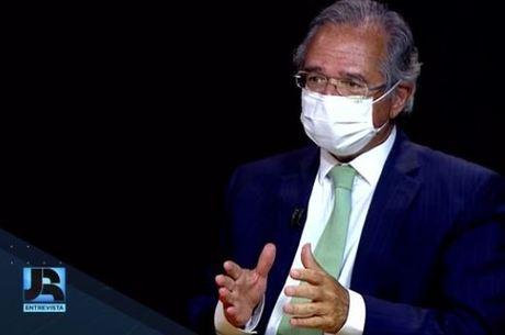 Guedes, em entrevista a Thiago Nolasco e Eduardo Ribeiro