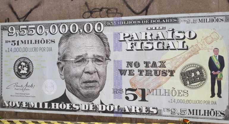 Guedes estampa nota de US$ 9,5 milhões em um dos principais centros financeiros do país