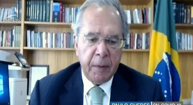 Guedes participa de comissão mista no Congresso