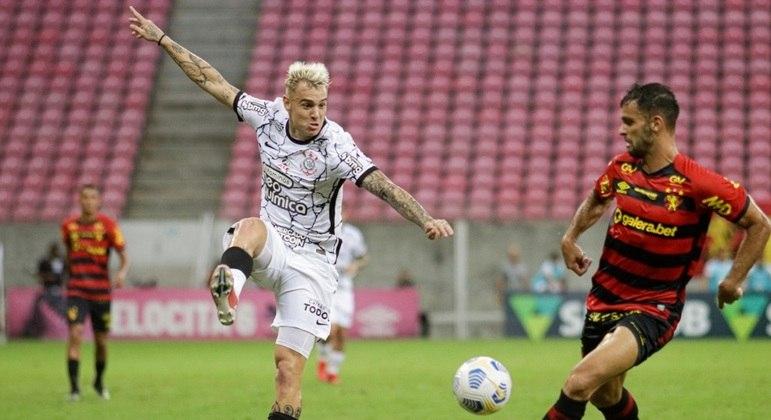 Róger Guedes foi muito bem marcado e não impediu tropeço do Corinthians
