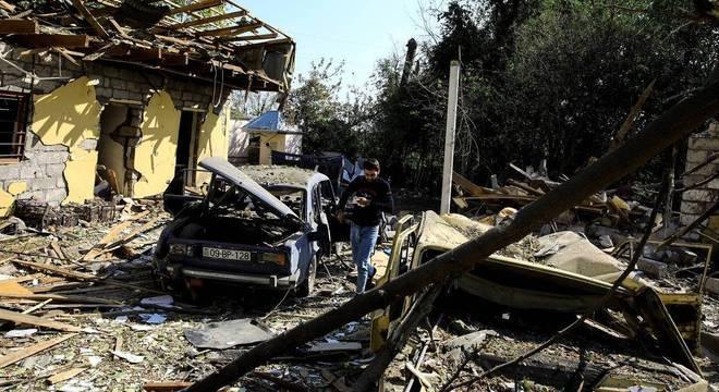 Os conflitos em em Nagorno-Karabakh já deixaram quase 300 mortos