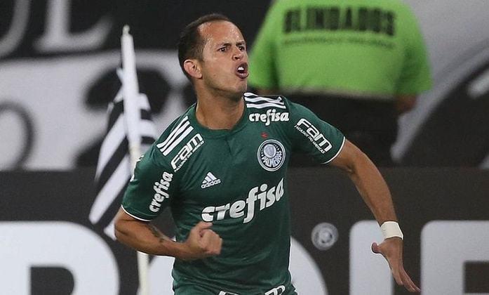 Guerra: chegando junto com Borja, o venezuelano também não teve a sequência esperada desde que desembarcou ao Palmeiras. Foram 62 partidas e oito gols marcados, mas está sem espaço (e clima) no clube – o 'Lobo' estava emprestado ao Bahia.