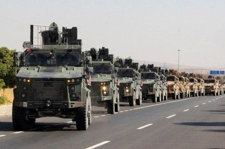 Turquia deu início a ofensiva militar na Síria