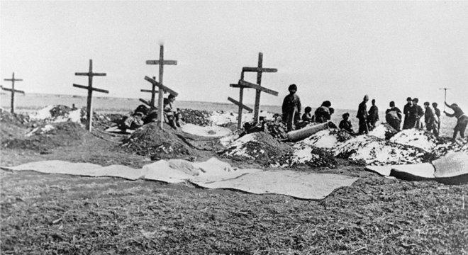 A guerra russo-japonesa foi brutal, prenunciando a morte e a destruição que ocorreriam na 1ª Guerra Mundial, uma década depois