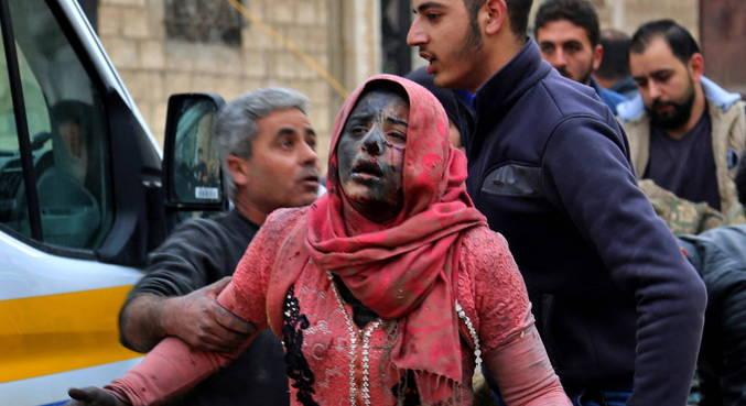Metade da população da Síria fugiu para países próximos e Europa
