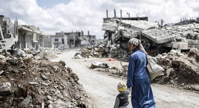 Com anos de conflito, economia do país está arrasada
