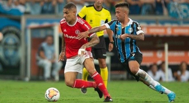 Guerrero até tentou, mas não conseguiu marcar para o Inter