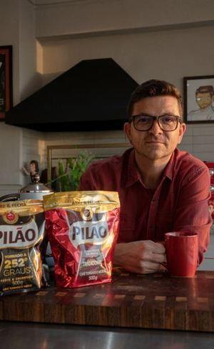 Cozinha tem tudo a ver com Café Pilão